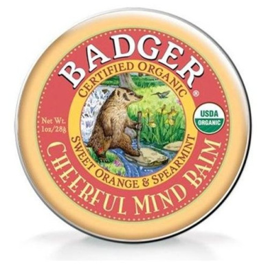 Badger Aromatherapy Cheerful Mind Balm -- 20ml