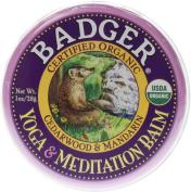 Badger Yoga & Meditation Balm 1oz. Tin
