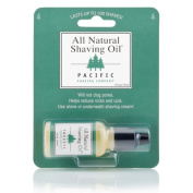 Pacific Shaving Company All Natural Shaving Oil, Up To 100 Shaves, 15ml