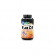 EFA Gold Flax Oil High Potency - Certified Organic (1300mg) 100 sgels