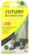 FUTURO Revitalising Trouser Socks for Women, Moderate, Large, Black 1 ea