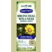 Gaia Herbs Rapid Relief Organic Bronchial Wellness Herbal Syrup 5.4 fl oz
