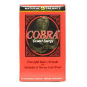 Cobra Sexual Energy 60 VCaps by Natural Balance