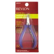 Revlon Cushion Grip Cuticle Nipper Quarter Jaw Model No. 4685-46