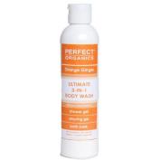 Perfect Organics Orange Ginger Ultimate Body Wash, 240ml