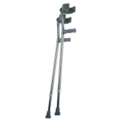 Lumex Deluxe Adjustable Forearm Crutches Crutch, Small