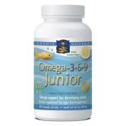 Nordic Naturals - Complete Omega Junior, Promotes Brain, Bone, and Nervous and Immune System Health, 180 Soft Gels