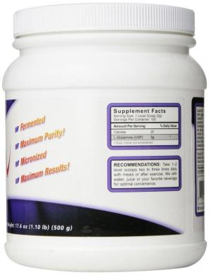 Glu FM - Fermented Micronized Glutamine 500 gr