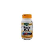 Natures Way Vitamin B-1, 100 Caps, 100 Mg
