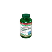 Nature's Bounty Flaxseed 1200mg Softgels 200ct Value 200 ea
