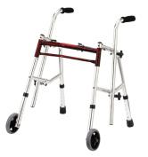 Drive Medical 10222FRD-1 Wenzelite Rehab Glider Walker- Flame Red