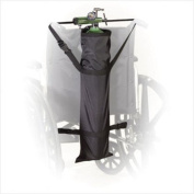 Deluxe Wheelchair Carry Pouch for Oxygen Cylinders