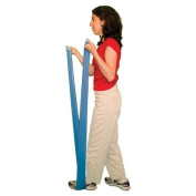 Cando 10-5614 Blue Latex-Free Exercise Band, Heavy Resistance, 6 yd Length