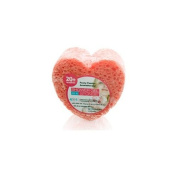 Spongeables Peony Passio Shower Gel in a Sponge (Red Heart) 20+ Uses