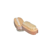 Bath Accessories Oval Wooden Nail Brush WoodBristle