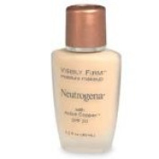Neutrogena Visibly Firm Moisture Makeup SPF 20 40 Softest Gold