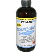 Twinlabs 80464 Norwegian Cod Liver Oil Dietary Supplement Liquid Cherry