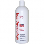 Healthy Sexy Hair Soy Milk Moisture Shampoo by Sexy Hair for Unisex - 1000ml Shampoo