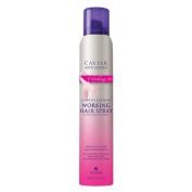 ALTERNA CAVIAR Anti-Ageing Caviar Working Hair Spray, Ultra-Dry Control BCA, Limited Edition 220ml