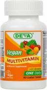 Deva Vegan Vitamins Vegan, Multivitamin With Iron