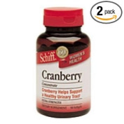 Extra Strength Cranberry Concentrate 1000 MG 90 Sftgls by Schiff/Bio Foods