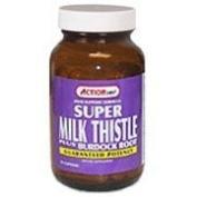 Action Labs Super Milk Thistle Plus Burdock Root, Capsules 50 ea