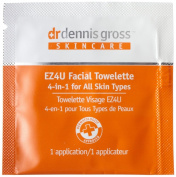 DGskincare EZ4U All Skin Types Facial Towelette 20 Packettes