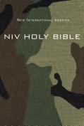 NIV, Holy Bible, Compact, Paperback, Woodland Camo