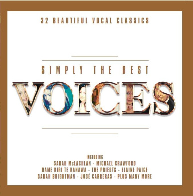 Simply The Best Voices [2CD]