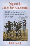 Origins of the African American Jeremiad