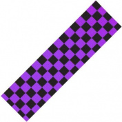 Scooter Griptape - Black/Purple Chequered