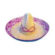 Mexican Straw Sombrero