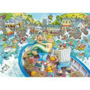 Wasgij Original 16 - Catch of the Day 1000 Piece Jigsaw Puzzle
