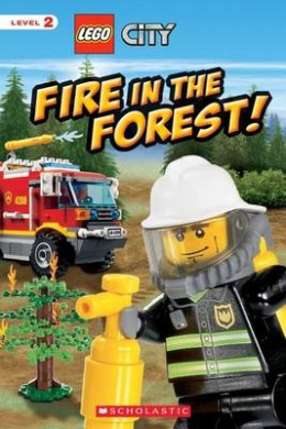 Lego City Fire in the Forest! (Scholastic Reader: Level 1)