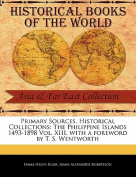The Philippine Islands 1493-1898 Vol. XIII