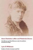 Ann Charlotte Leffler and Modernist Drama