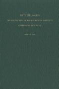 Mitteilungen Des Deutschen Archaologischen Instituts [GER]