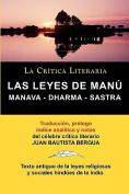 Las Leyes de Manu [Spanish]