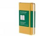 Moleskine Classic Notebook, Extra Small, Ruled, Orange Yellow, Hard Cover (2.5 x 4)