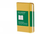 Moleskine Classic Notebook, Extra Small, Plain, Orange Yellow, Hard Cover (2.5 x 4)