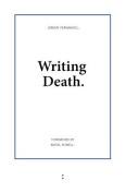 Writing Death