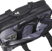 Nappa Leather Rolling case w/ Large Removable Sleeve