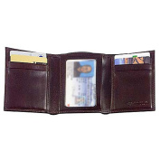 Old Leather Double ID Trifold