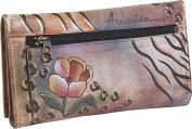 Checkbook Wallet - Premium Floral Safari