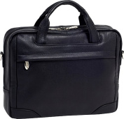 "Bronzeville Leather 15.4"" Laptop Brief"