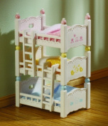 Sylvanian Families Triple Bunk Beds