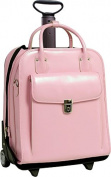 W Series La Grange Leather Vertical Detachable-Wheeled Ladies' Briefcase