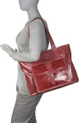 """Stafford Vintage Leather Laptop Tote 17.3"""""""