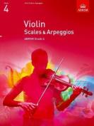 Violin Scales & Arpeggios, ABRSM Grade 4