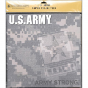 Uniformed Scrapbooks US Army Paper Pack, 30cm x 30cm , 20/pkg